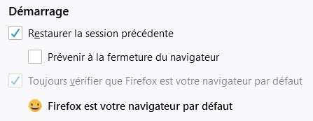 firefox capture demarrage
