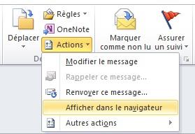Outlook Imprimer Le Contenu D 39 Un Email